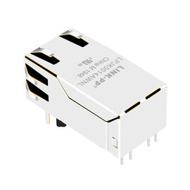 China JK0-0114NL-de Modulaire Jack LPJK0014AWNL 1GE Ethernet Haven van 1000Base RJ45 leverancier