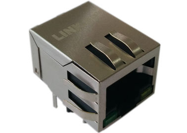 China De Schakelaarhefboom van LPJG0801GBNL Rj45, de Haven van Gigabit Ethernet Magnetics 1GbE verdeler